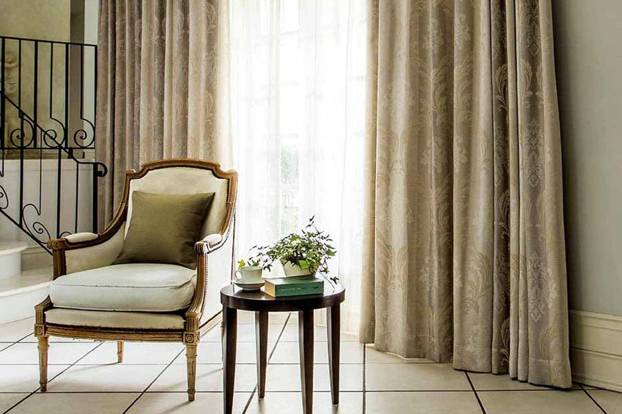 classical blackout curtains