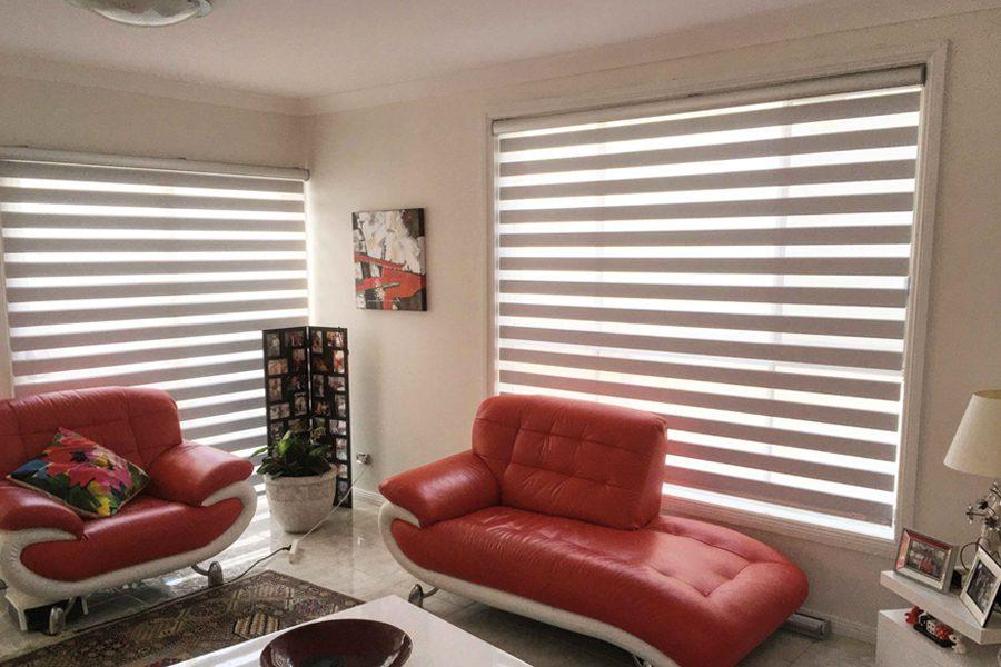 living room korean blinds