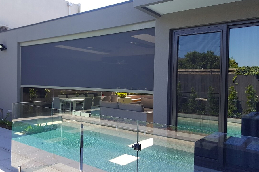 poolside outdoor blinds