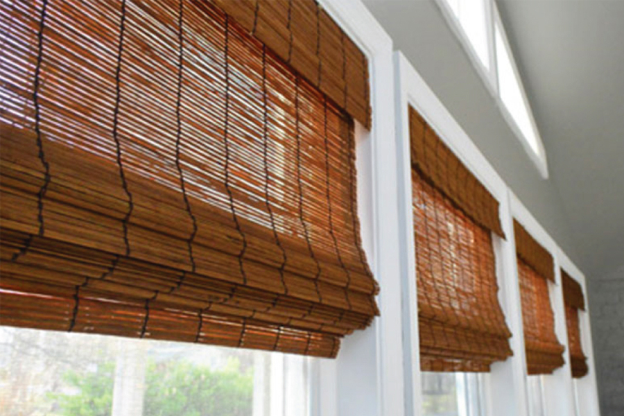 traditional bamboo blinds
