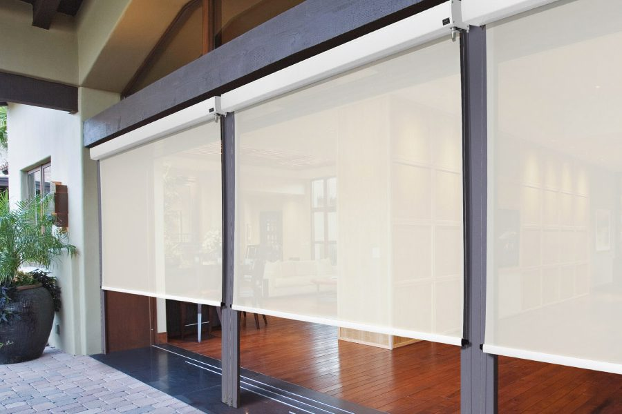 translucent outdoor blinds